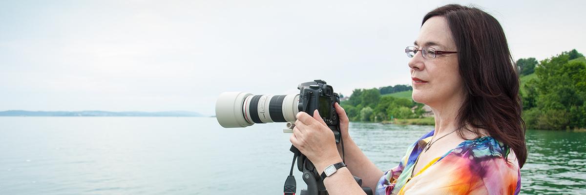 Wer fotografiert sympathische Porträtfotos am Bodensee? Na ich!