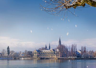 Konstanz im Schnee