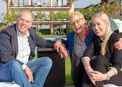 Familie Renn / Kugler, Inhaber des renommierten Hotels Burgunderhof in Hagnau