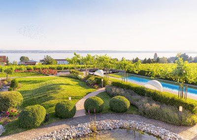 Burgunderhof: Der traumhaft schöne Garten