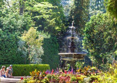Der alte Brunnen im Stadtgarten Überlingen