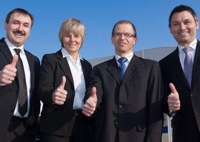 Die Geschäftsführer der Auron GmbH