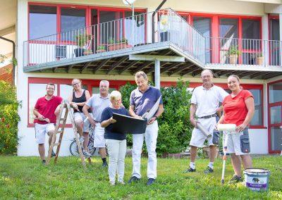 Teamfoto Maler Dauwalter, Owingen