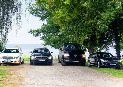 Die Fahrzeuge von Taxi Stetten