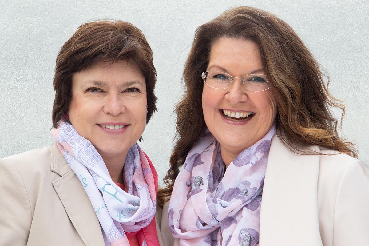 Beate Etzold und Doris Strobel von der Senioren-Assistenz Bodensee