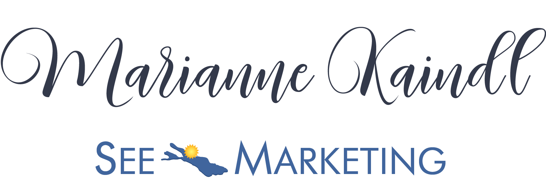 Logo Marianne Kaindl, See-Marketing