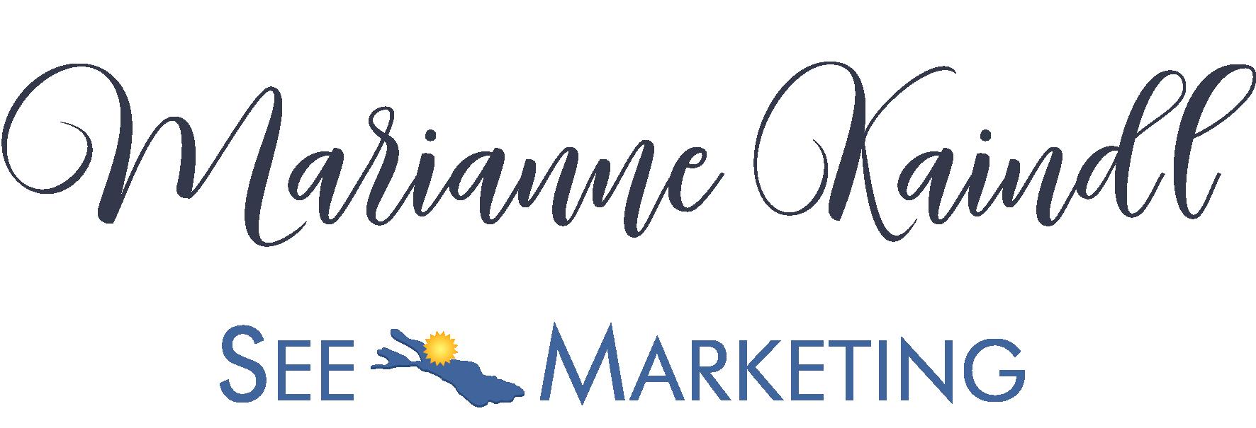 Logo Marianne Kaindl, See-Marketing