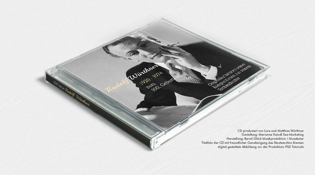 Jubiläums-CD der Akkordeon-Legende Rudolf Würthner