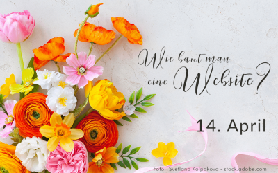 Website, 14. April – Der nächste Beitrag kommt morgen, denn heute habe ich Geburtstag!